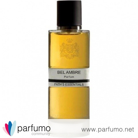 Fath's Essentials - Bel Ambre by Jacques Fath