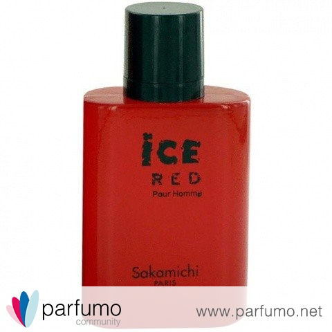 Ice Red pour Homme by Sakamichi