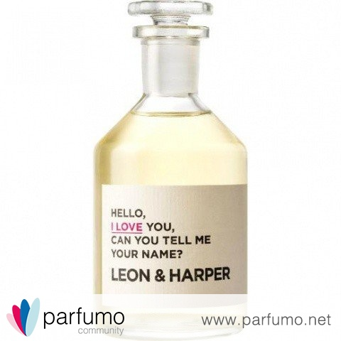 Hello, I Love You, Can You Tell Me Your Name? by Leon & Harper