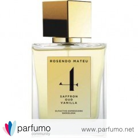 4 - Saffron, Oud, Vanilla by Rosendo Mateu - Olfactive Expressions
