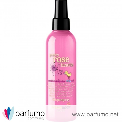 Pretty Rose Hearts (Body Mist) von Treacle Moon