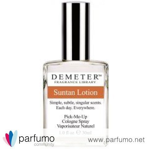 Suntan Lotion by Demeter Fragrance Library / The Library Of Fragrance