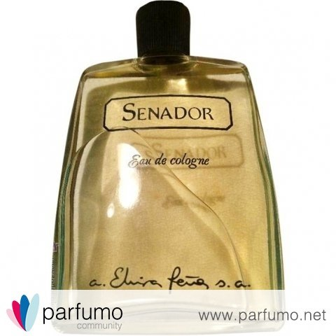 Senador (Eau de Cologne) by Elvira Peña