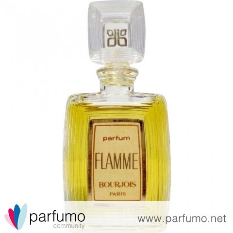 Flamme (1976) (Parfum) by Bourjois
