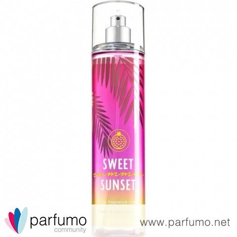 Sweet Summer Sunset by Bath & Body Works