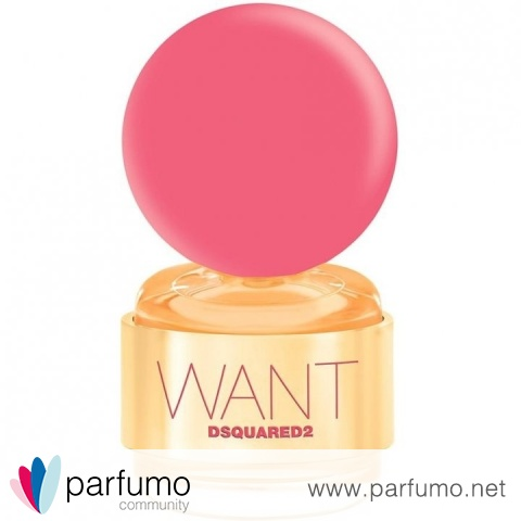 Want Pink Ginger by Dsquared²