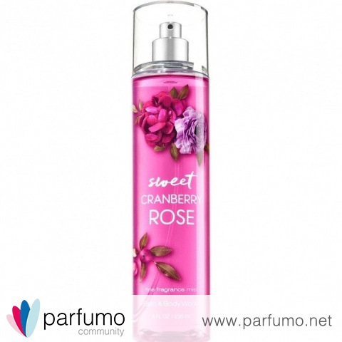 Sweet Cranberry Rose by Bath & Body Works