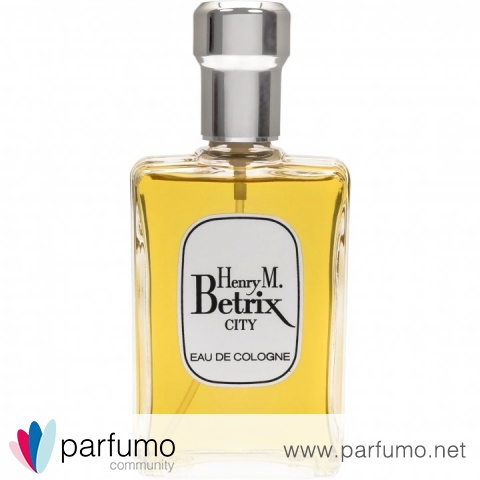 City (Eau de Cologne) by Henry M. Betrix