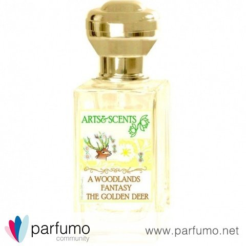 A Woodlands Fantasy The Golden Deer von Arts&Scents