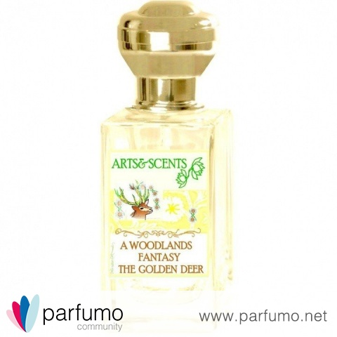 A Woodlands Fantasy The Golden Deer by Arts&Scents