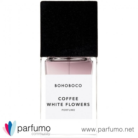 Coffee White Flowers by Bohoboco