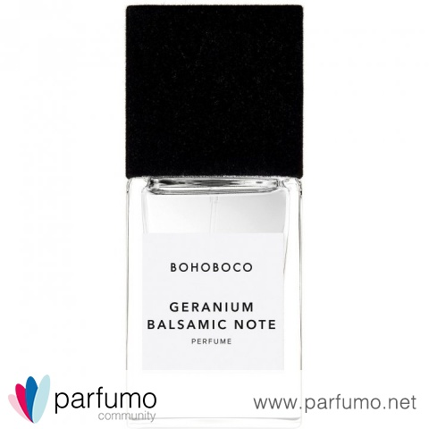 Geranium Balsamic Note by Bohoboco
