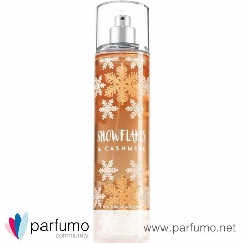 Snowflakes & Cashmere by Bath & Body Works