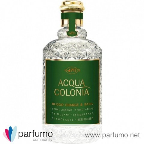 Acqua Colonia Blood Orange & Basil (Eau de Cologne) by 4711