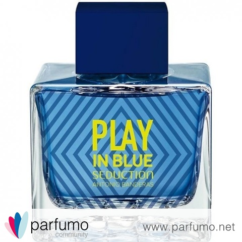 Play In Blue Seduction for Men by Antonio Banderas
