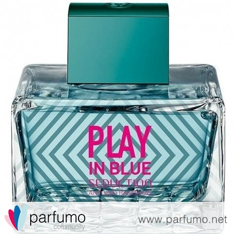 Play In Blue Seduction for Women by Antonio Banderas
