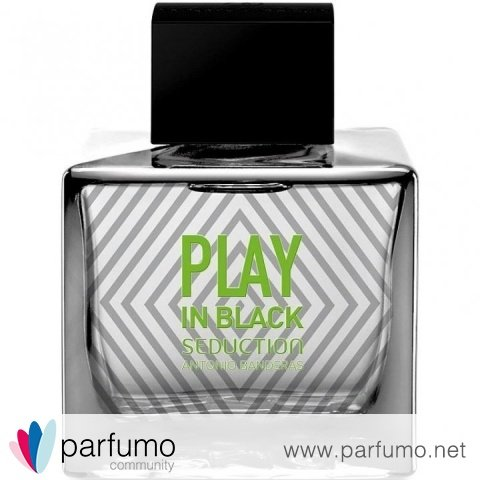 Play In Black Seduction by Antonio Banderas