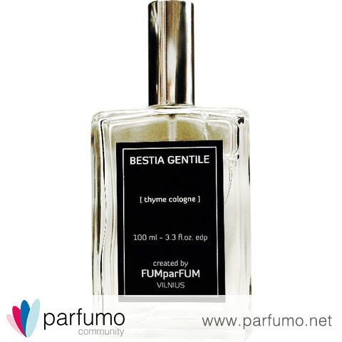 Bestia Gentile - Thyme Cologne by FUMparFUM