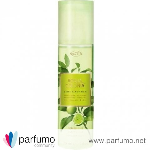Acqua Colonia Lime & Nutmeg (Bodyspray) von 4711