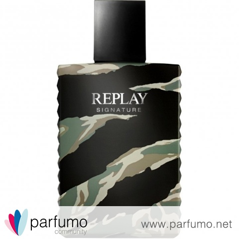 Signature for Man by Replay