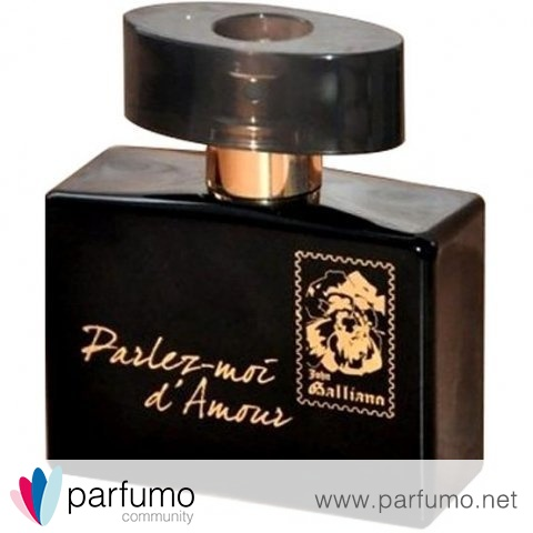 Parlez-moi d'Amour by Night by John Galliano