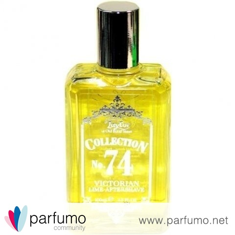Collection No. 74 - Victorian Lime Aftershave by Taylor of Old Bond Street