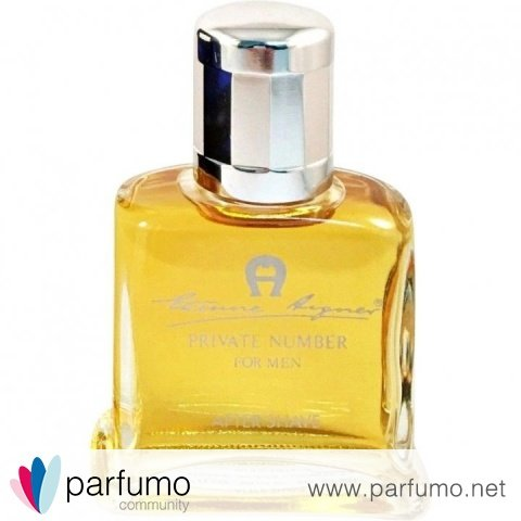 Private Number for Men (After Shave) by Aigner