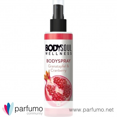 Bodyspray Granatapfel & Cranberry von Body & Soul Wellness