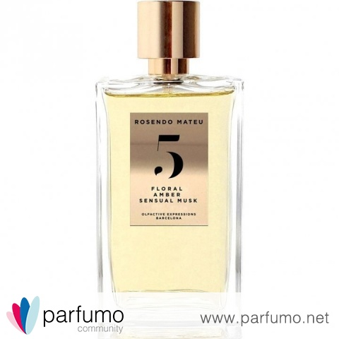 5 - Floral, Amber, Sensual Musk by Rosendo Mateu - Olfactive Expressions