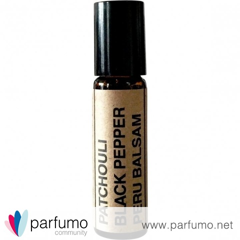 Patchouli Black Pepper Peru Balsam von Hiddenfolk