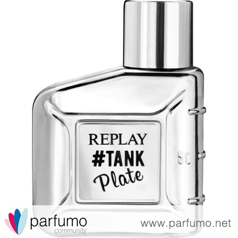 #Tank Plate for Him by Replay